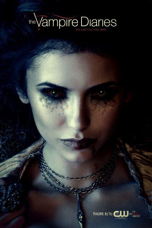 elena gilbert the vampire diaries poster