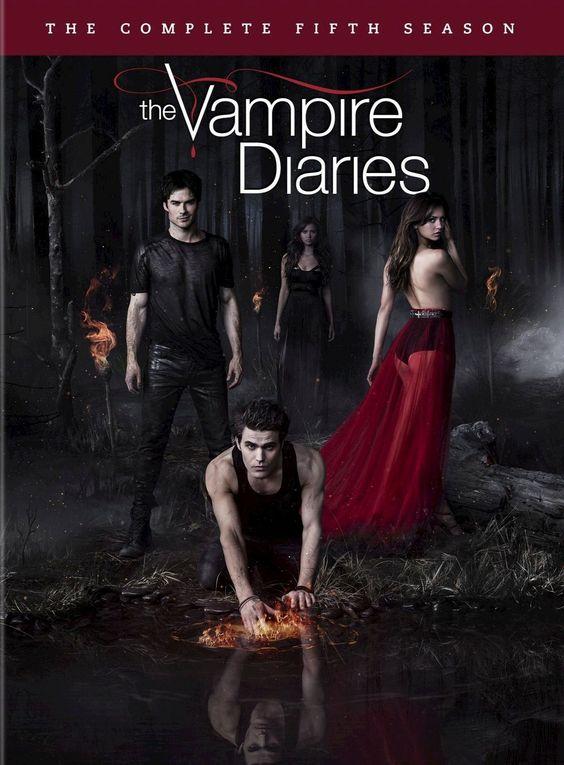 the vampire diaries poster- the 5th season