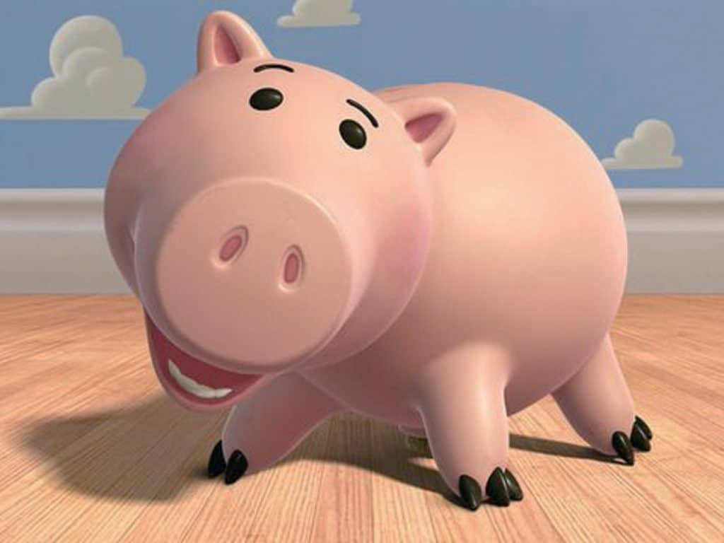 toy story image of hamm piggy bank