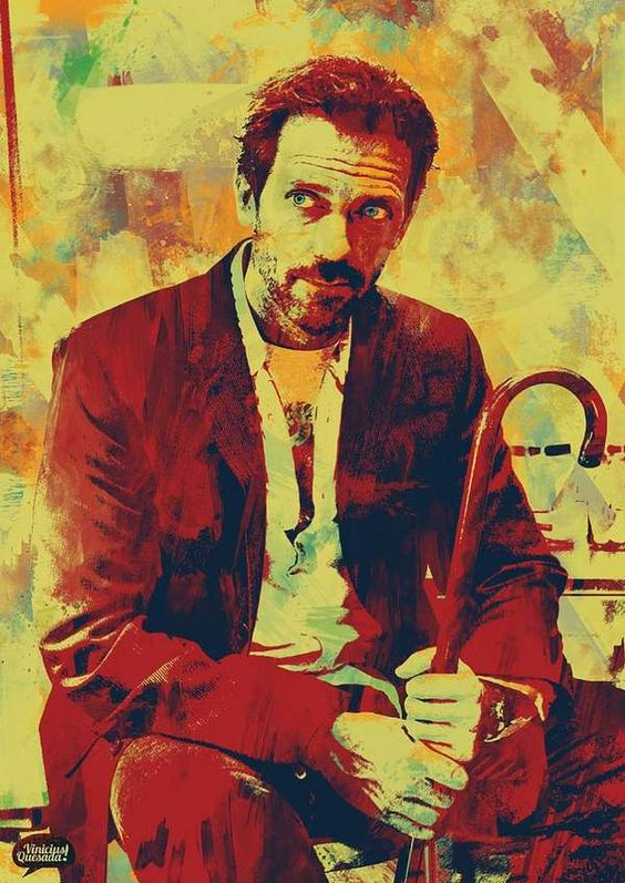 house md poster of DR. House
