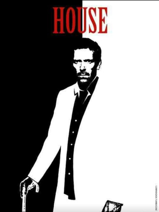 House M.D poster of Dr. house