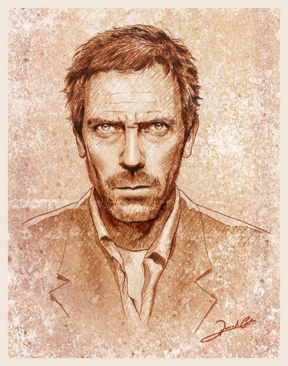 house M.D poster of Dr. Gregory House