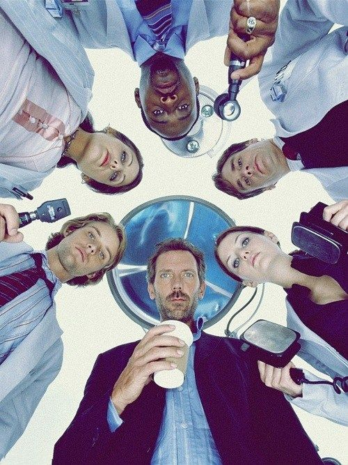House MD Poster of all doctors