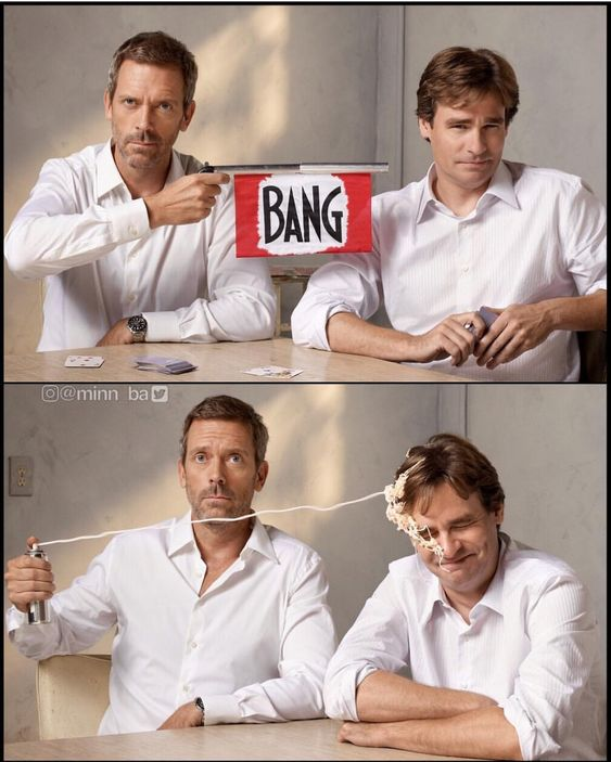House M.D poster of Dr. House and Wilson