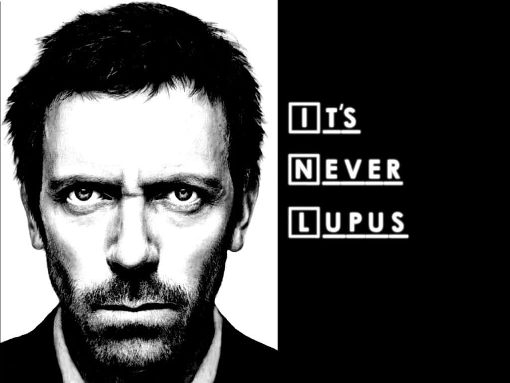 house MD poster of famous dialogue by House