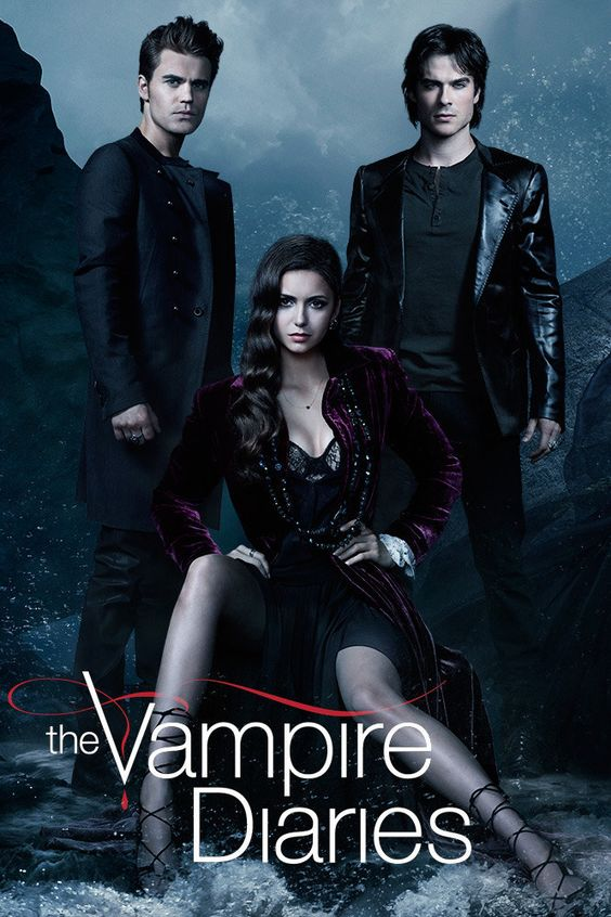the vampire diaries poster love triangle