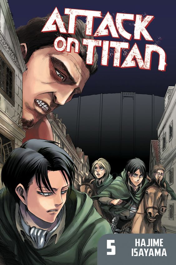 attack on titan- before the fall