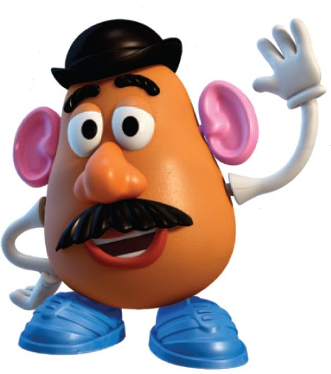 toy story image of potato head