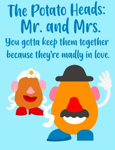 toy story image of mr and mrs potato head