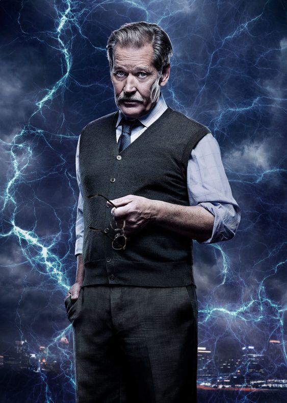 black lightning poster of peter gambi