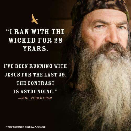 duck dynasty famous dialogue of phil robertson