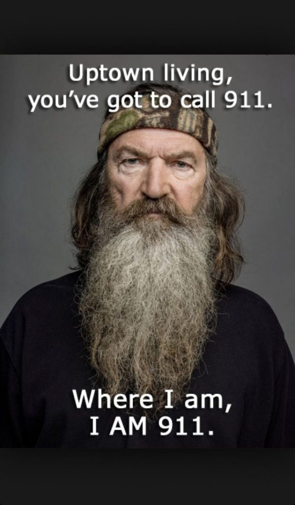 duck dynasty image of famous dialogue by phil robertson