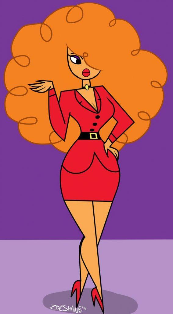 powerpuff girls poster of ms bellum
