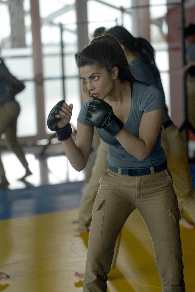quantico image of priyanka fighting