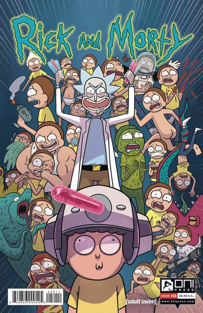 rick and morty poster main