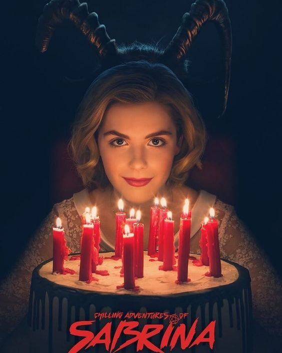 The Chilling adventures of sabrina poster