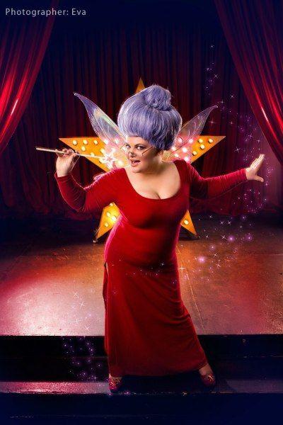 shrek 2 poster of fairy godmother