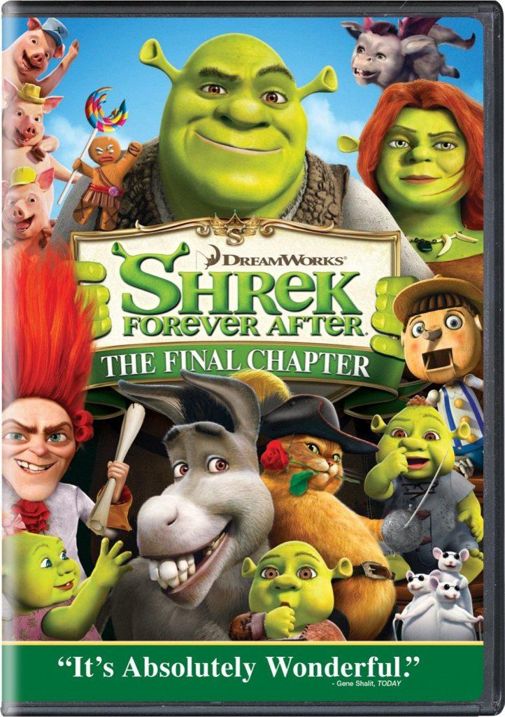 shrek forever after official movie poster