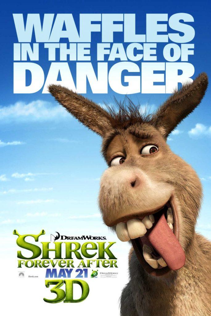shrek forever after posterof donkey