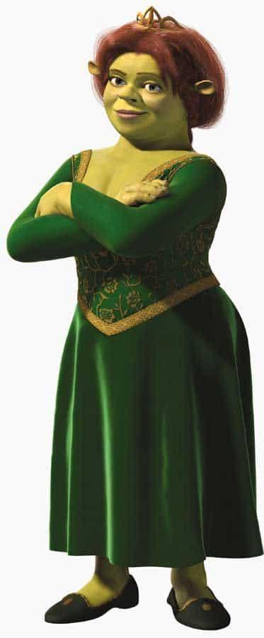 shrek poster of princess fiona