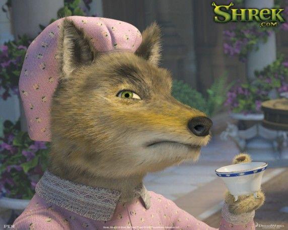 shrek the third poster of wolfie