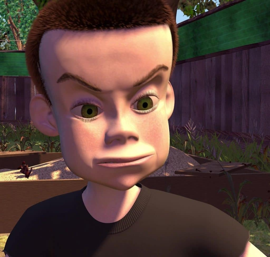 toy story image of sid
