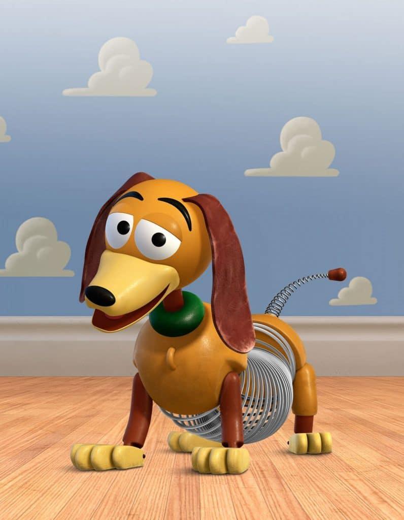 toy story image of slinky dog