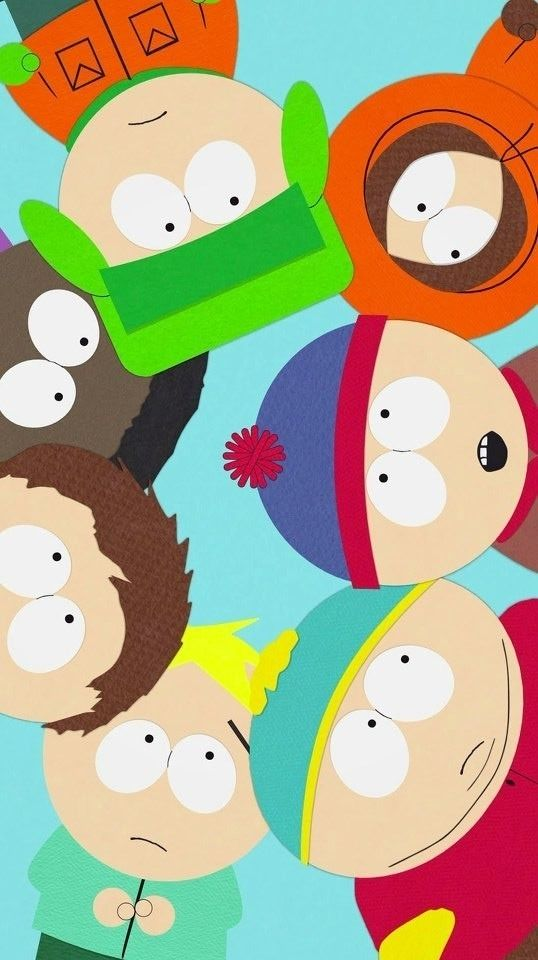 south park poster f all characters
