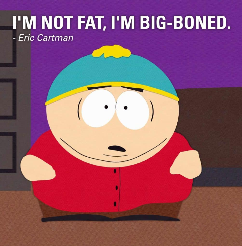 south park poster of cartman funny