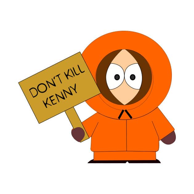 south park poster of kenny