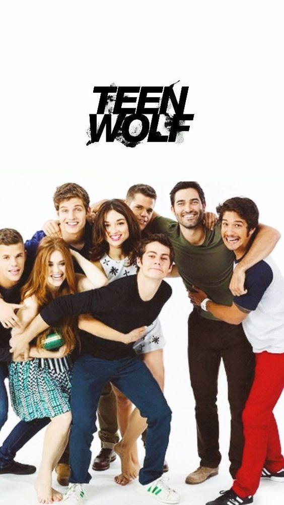 teen wolf poster- cast