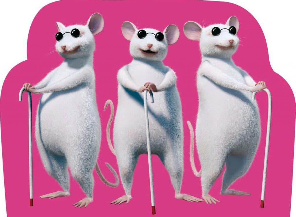 shrek the third three blind mice