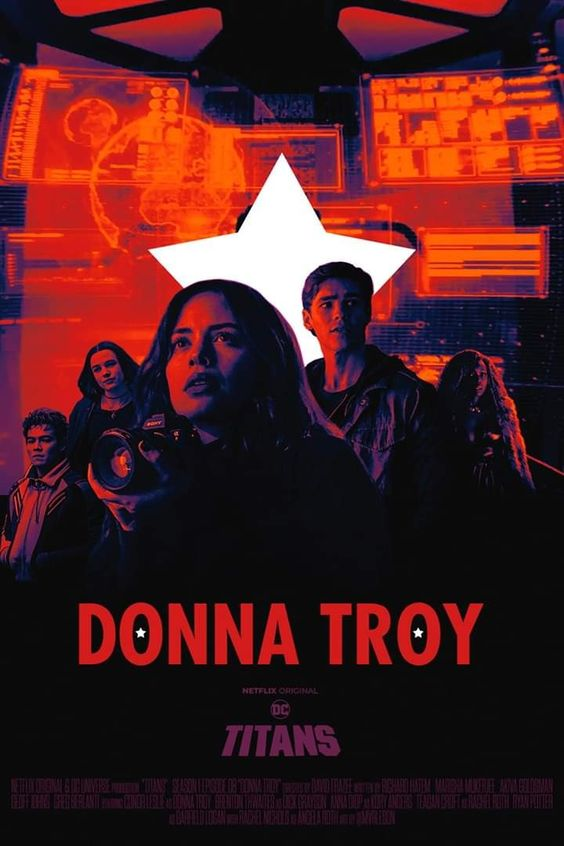 titans poster of donna troy