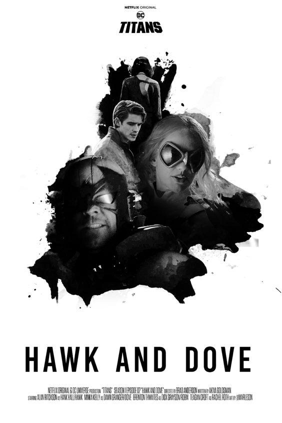 titans season 1 episode 2 hawk and dove