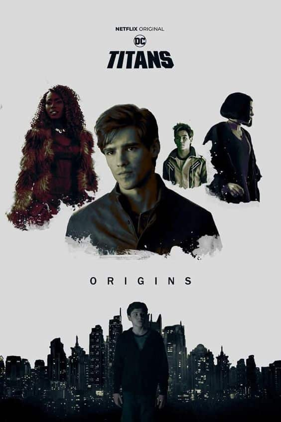 titans poster of 3rd episode from season 1
