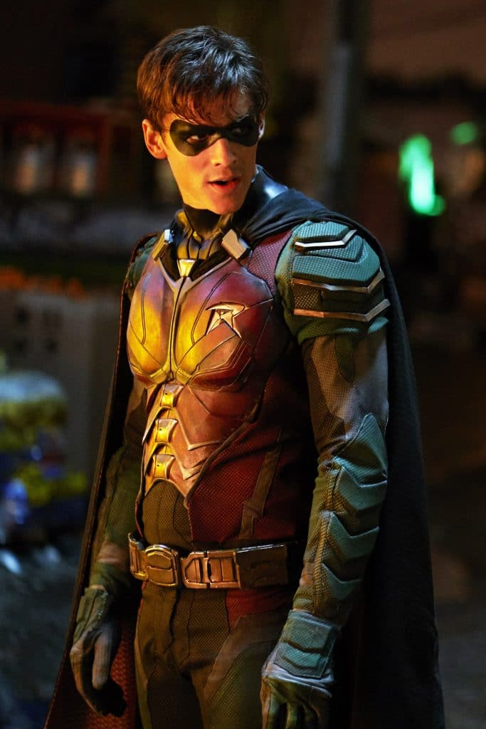 titans poster of robin
