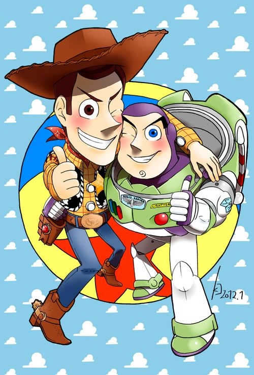 toy story image of buzz and woody