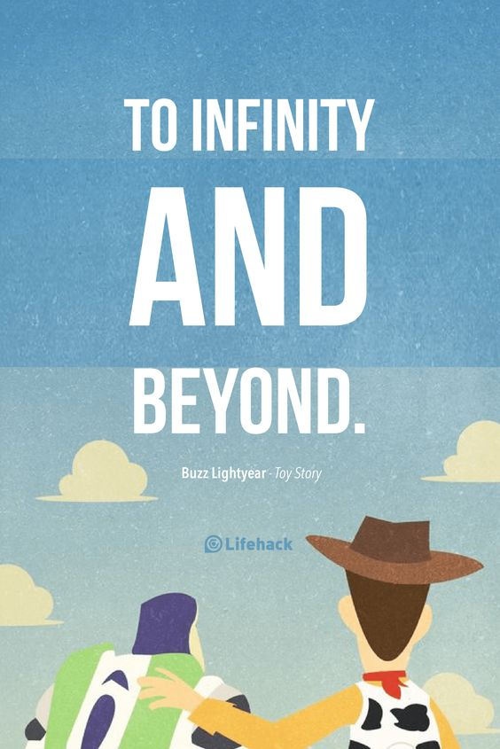 toy story image of famous quote