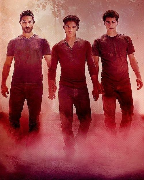 trio teen wolf poster