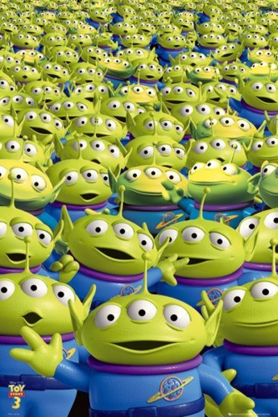 toy story 2 image of aliens