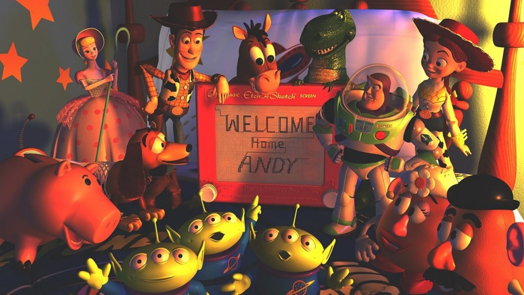 toy story 2 image of Andy Coming back