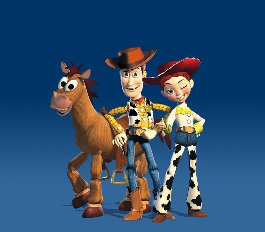 toy story 2 image of woody jessie and bullseye