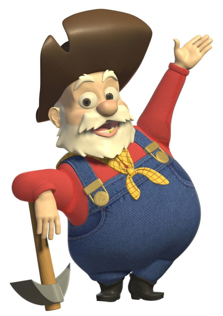 toy story 2 image of stinky pete the prospector
