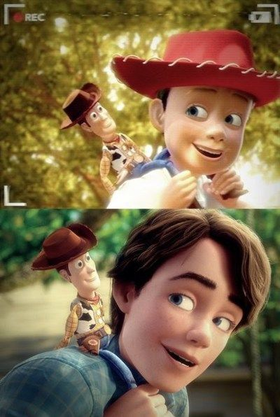 toy story 3 image of grown up andy