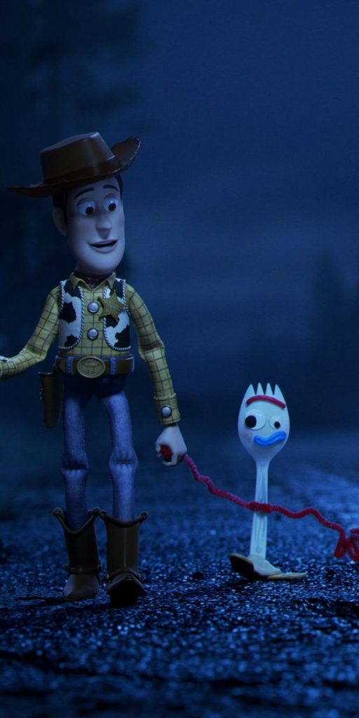 toy story 3 image of woody and forky