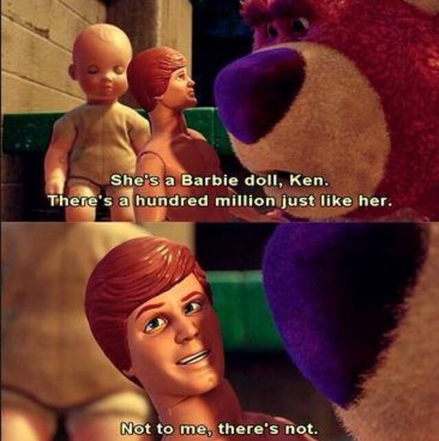 toy story 3 image of famous dialogue by ken