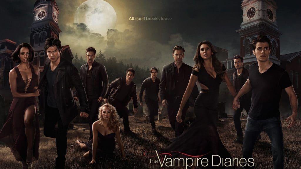the vampire diaries poster main
