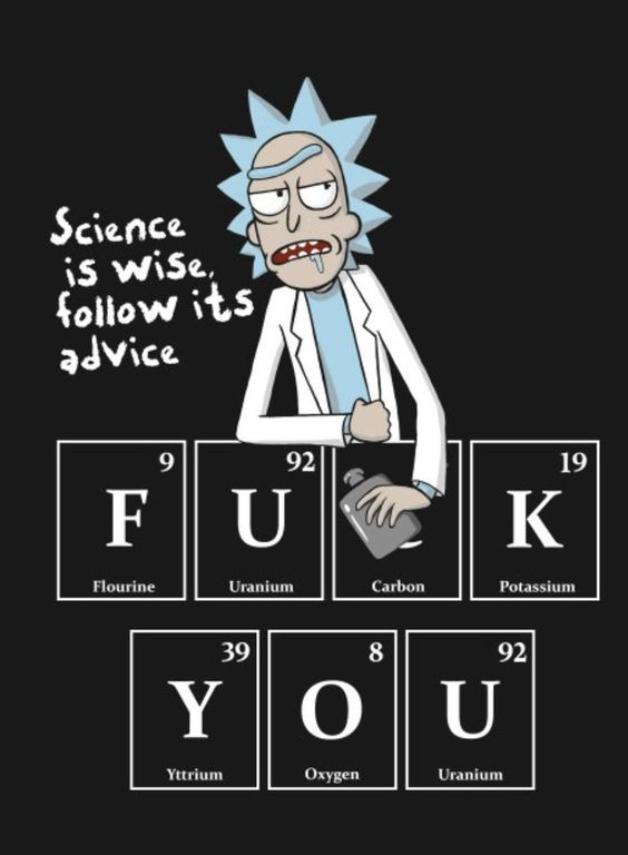 rick and science