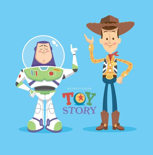 toy story image of woody and buzz