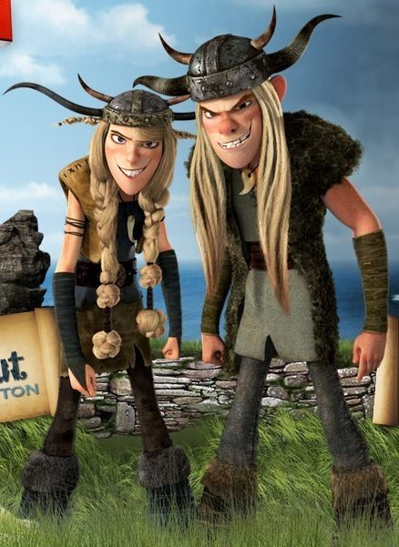 Tuffnut and Ruffnut Thorston